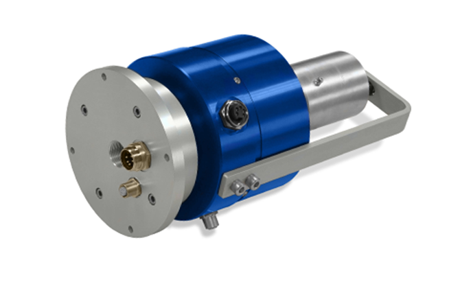 SR0020 Deublin electrical slip ring integrated with rotating union