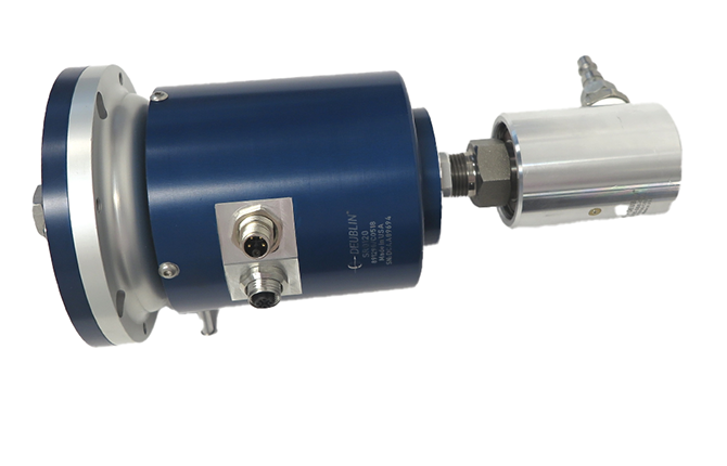 SR0120 Deublin electrical slip ring integrated with rotating union